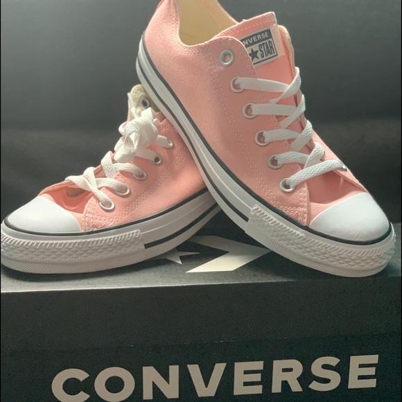 Storm Pink Converse   Poshmark
